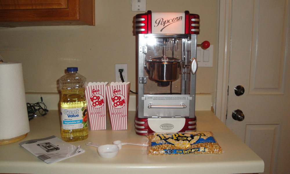 Popcorn or Popcorn Machines: What should you consider?