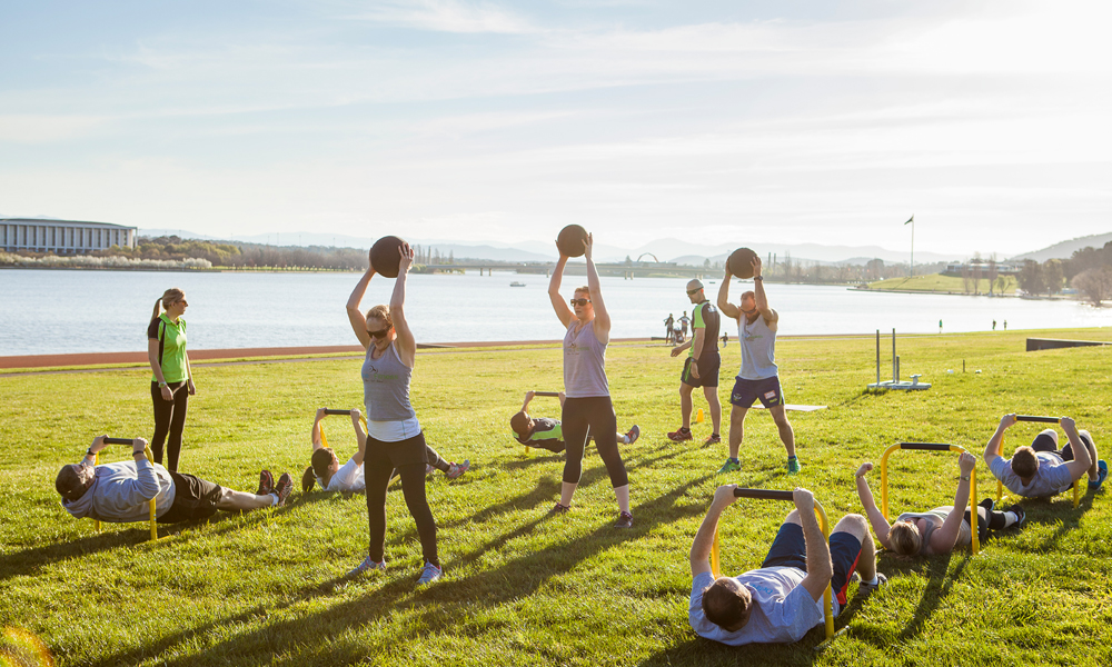 Burn Extra Fat With Boot Camp Workout