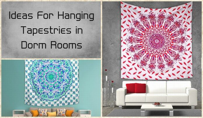 Wall Hanging Tapestry Bring Texture into Room Decor & Interior Decoration