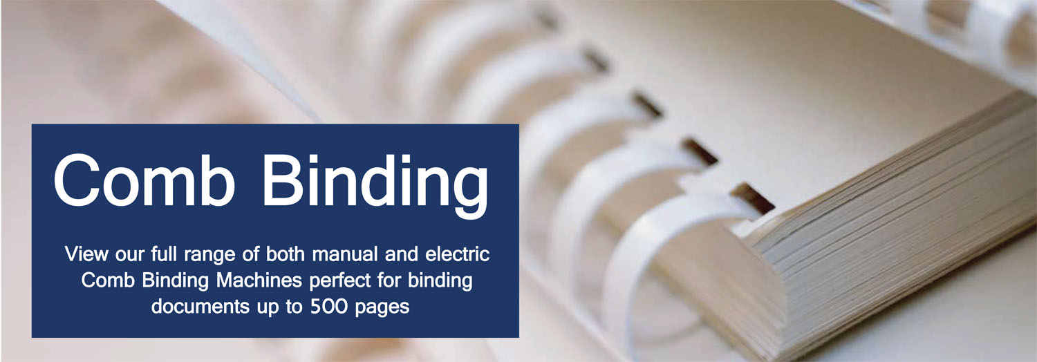 Comb Binding Machines – Find Cost-Effective Options