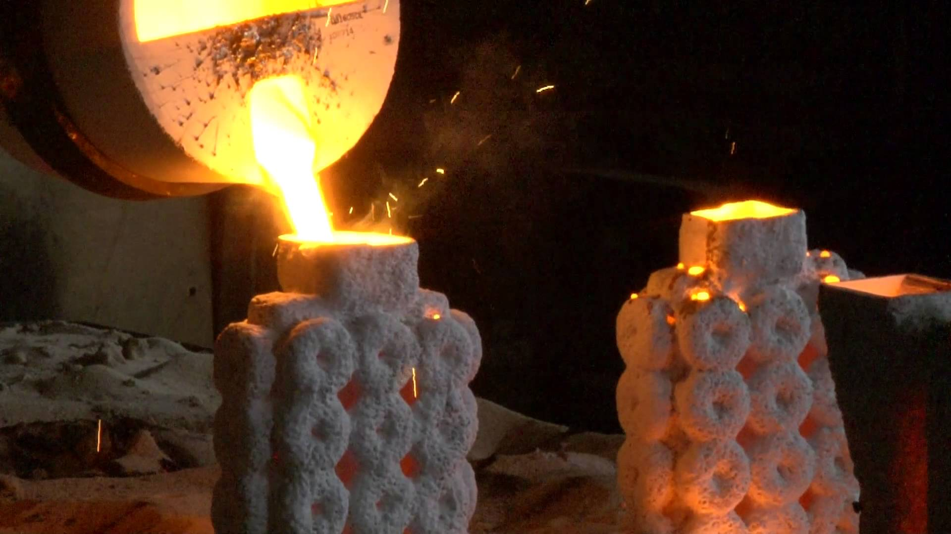 Production Process Of Investment Casting Foundry