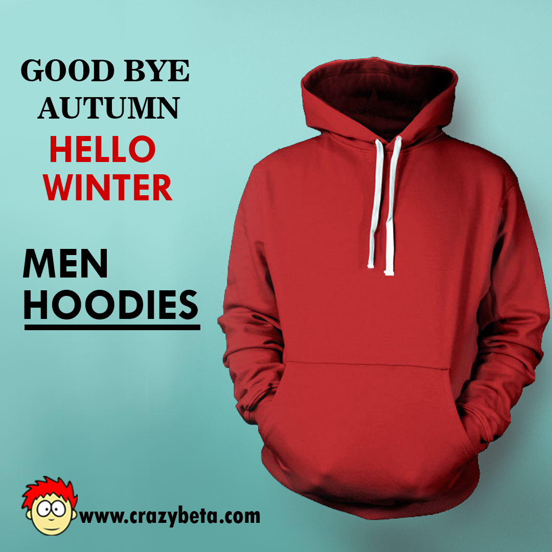 Nail the winter with Jazzy Style of Hoodies