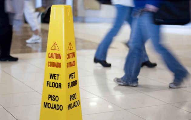Claim:- How to prevent slip and trip accident in retail?
