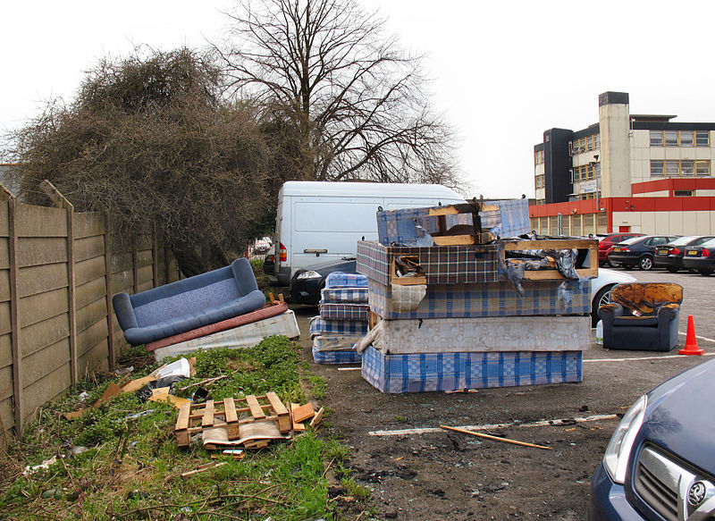Fly Tipping-A growing problem in the UK