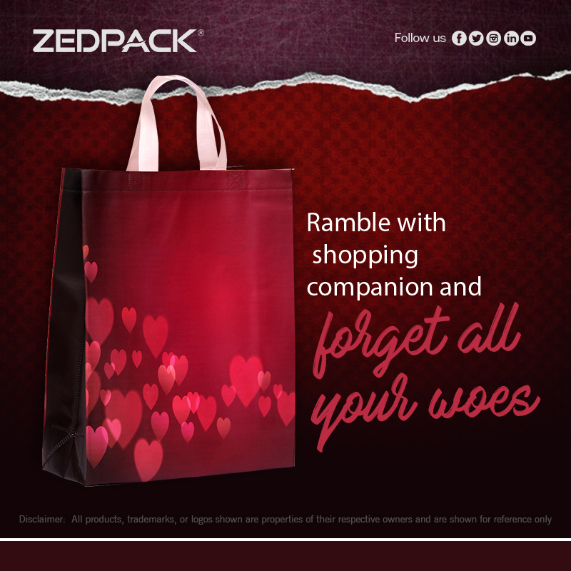 Designer Non-woven bags and packaging solutions by Zedpack