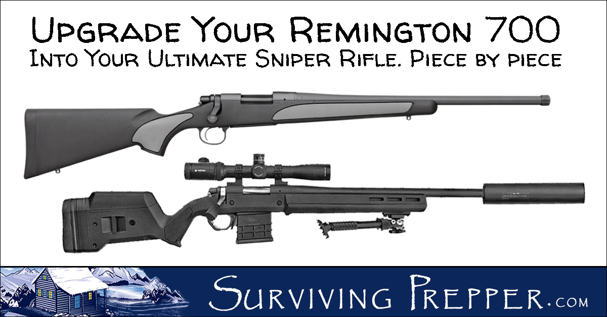 REM 700 Chassis and Other Great Accessories for Your Rifle