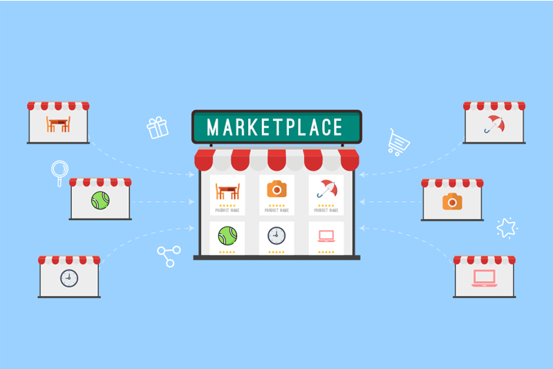 How beneficial is a multivendor marketplace for an online business?