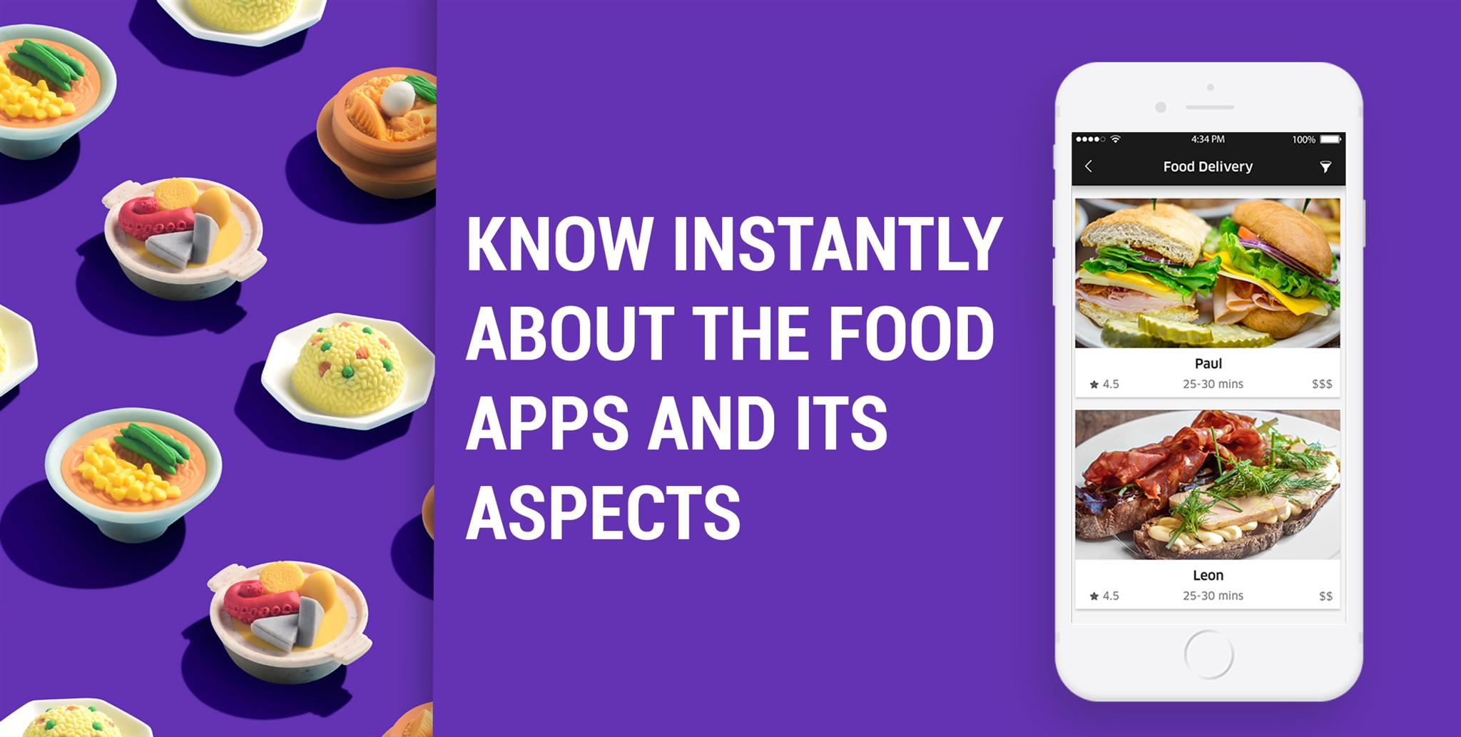 Have A Quick Look At All The Aspects Of Food Apps
