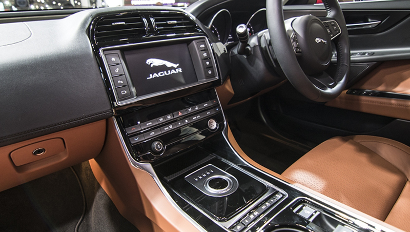 Jaguar Interior