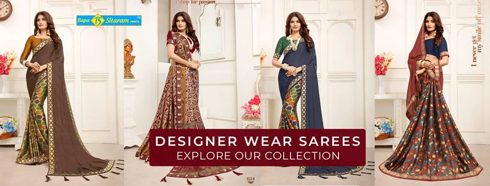 Shop For Stylish Collection Of Designer Sarees Online