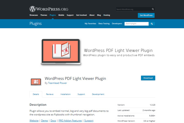 WordPress-PDF-Lite-Viewer