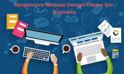 Responsive Website Design Theme For Business