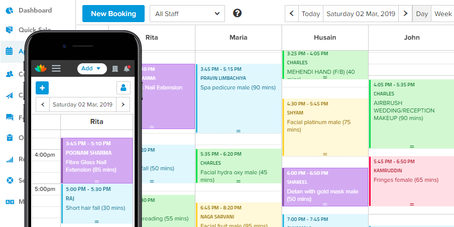 10 Best Salon Scheduling and Appointment Software