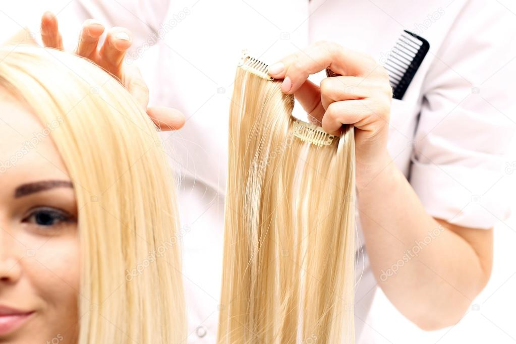 Different Types Of Hair Extension And Their Application Methods