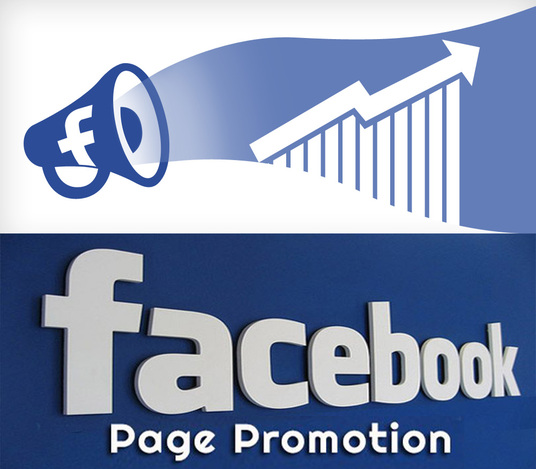 Facebook page promotion