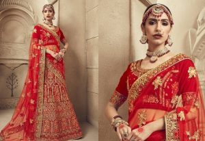 6. Behind Every Wedding there is a Story, Get it Etched on your Lehenga