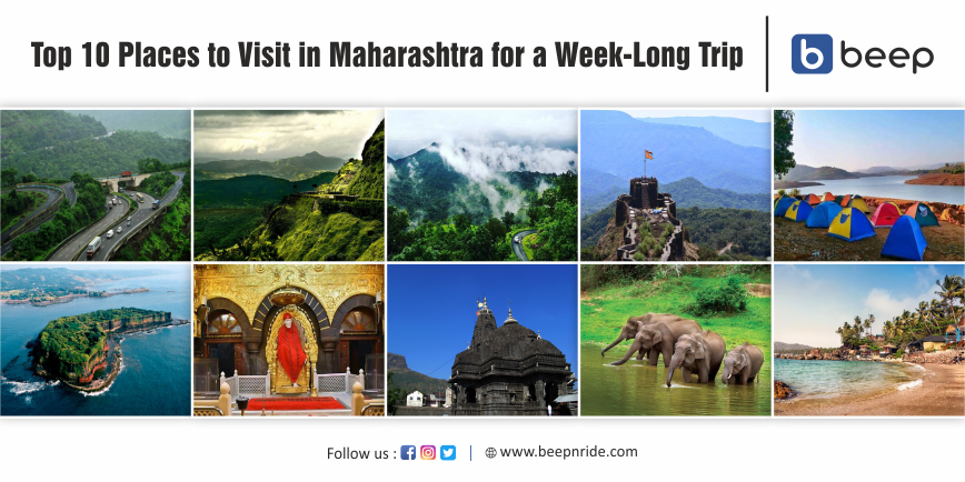 Top 10 Places to Visit in Maharashtra for a Week-Long Trip