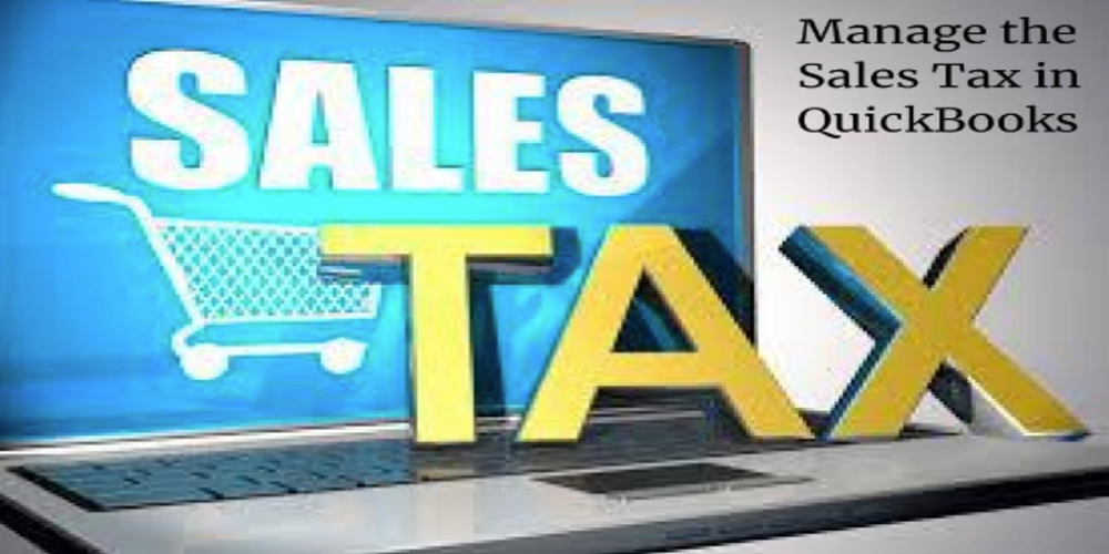 Manage the Sales Tax in QuickBooks