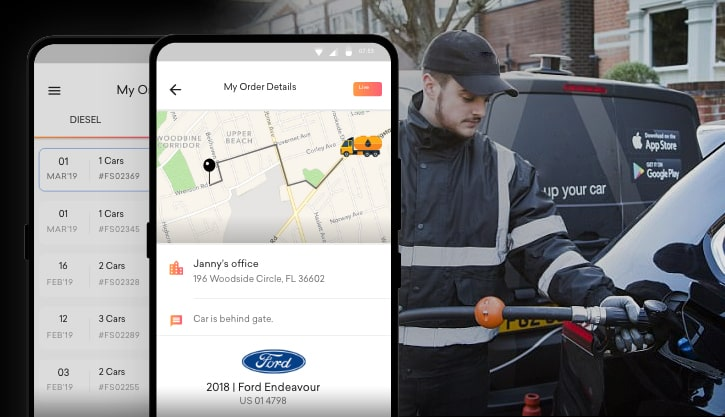 Fuel Delivery Service Apps- Wiping Out The Trips To Make To The Gas Station