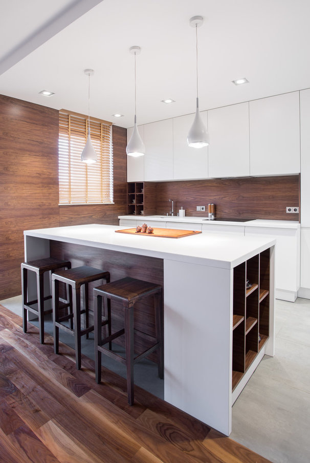 Opt for a Small Multipurpose Kitchen Island
