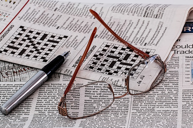 5 Stress Management Tips with The Crossword Puzzle