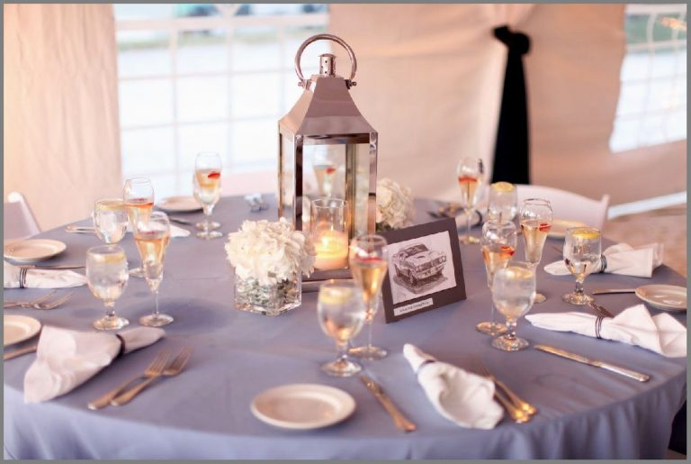 #16 Elegant And Beautiful Table Top Garnishing For Wedding Decorations!