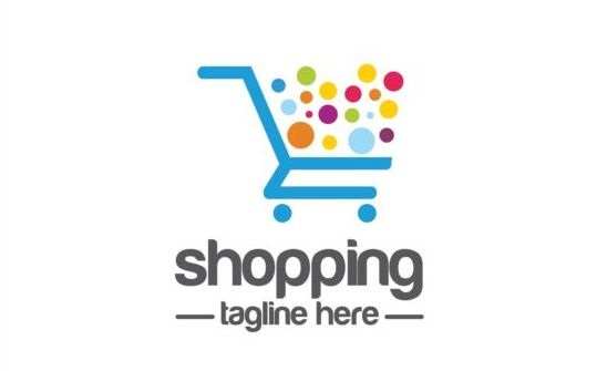 Shopping-cart-logo-vector-material-09