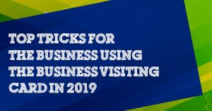 Tricks for the Business Using the Virtual Business Card