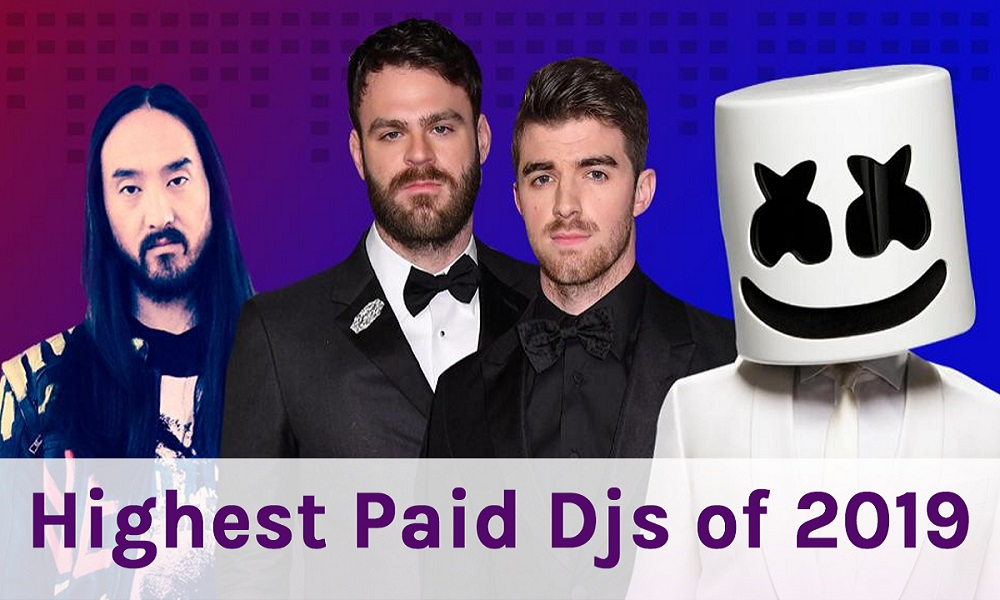 List Of Forbes Highest Paid DJs Out Now- JamJar
