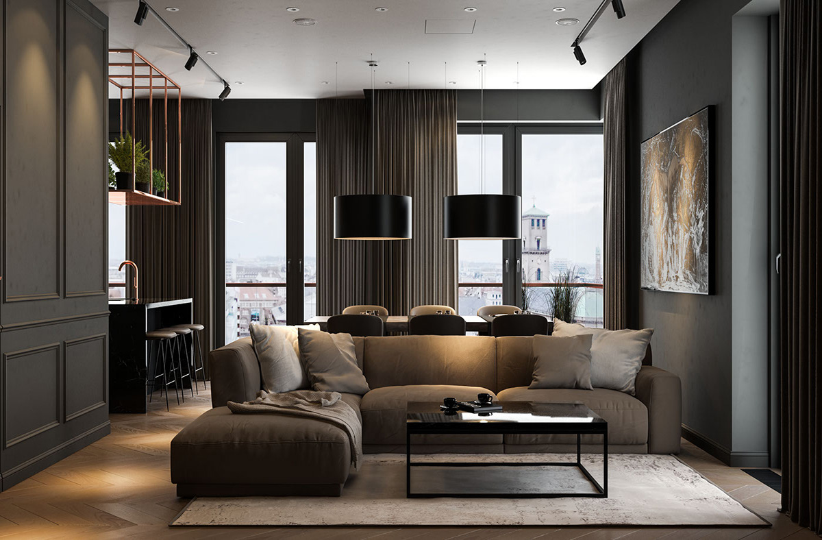 5 Creative Tips to Brighten Up A Dark Living Room