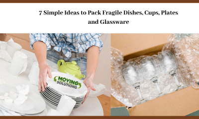 7 Simple Ideas to Pack Fragile Dishes, Cups, Plates and Glassware