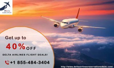 Get up to 40% off on delta airlines flight deals!