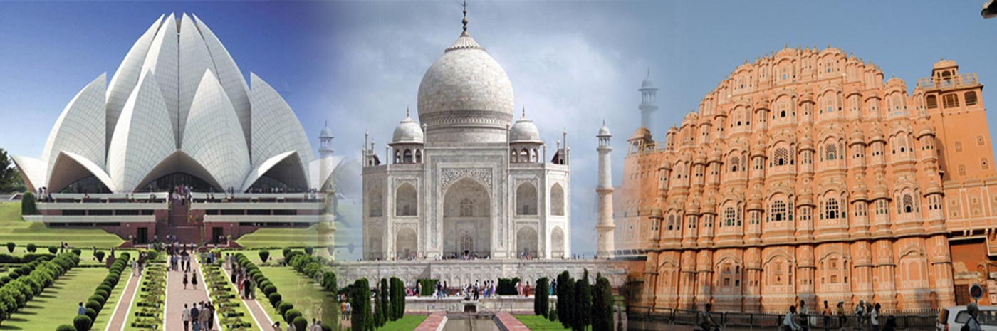 Explore The Best Places Of Indian Golden Triangle By Train, Car, and Air