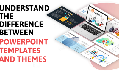 Understand the difference between PowerPoint templates and themes