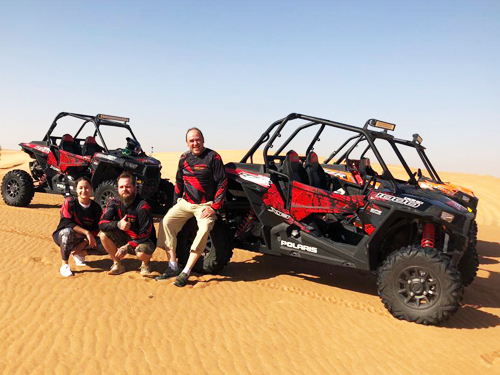 Explore Dubai Deserts On A Buggy This Time!