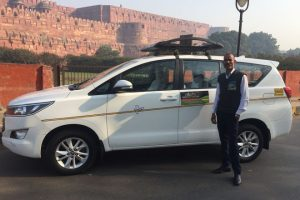 trip to indian golden triangle by car
