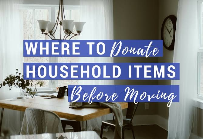 Why Is It A Good Idea To Donate Goods Before Relocating?