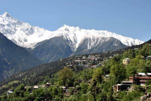 The Majestic Mountains Of Kalpa