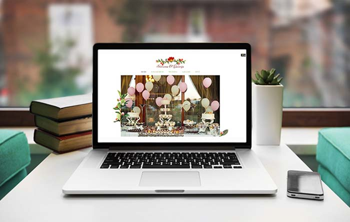 What is a wedding website.