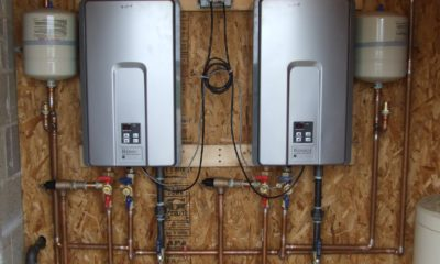 Tankless Hot Water System installation