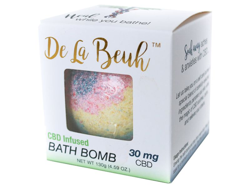 Custom Printed Bath Bomb Boxes Wholesale