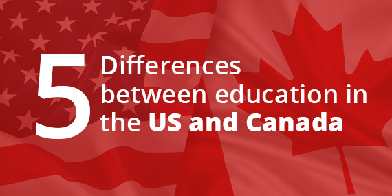 How to Distinguish Education in Canada from the US
