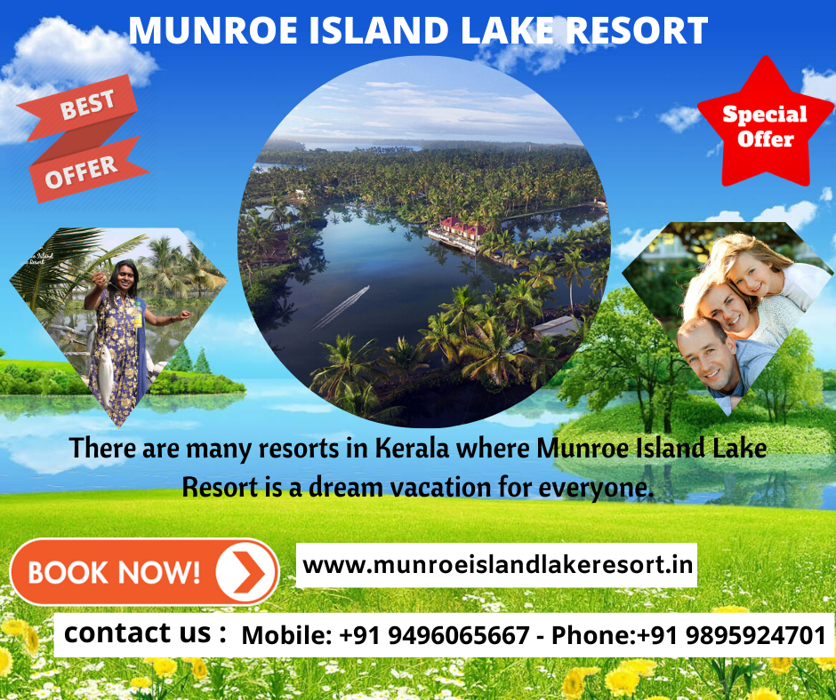Things to Enjoy In Munroe Island Lake Resort as a Couple