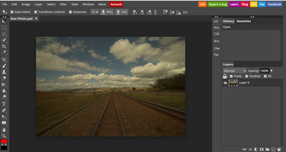 No Photoshop installed? Here are the Online Alternatives