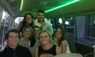 school formal party bus