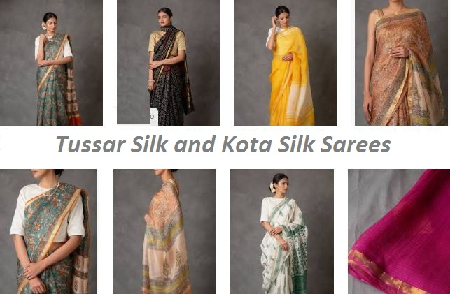 Things You Didn't Know about Tussar Silk Saree and Kota Silk Saree