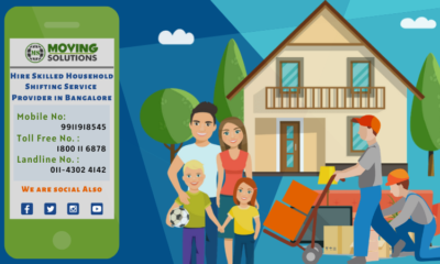 Hire Skilled Household Shifting Service Provider in Bangalore