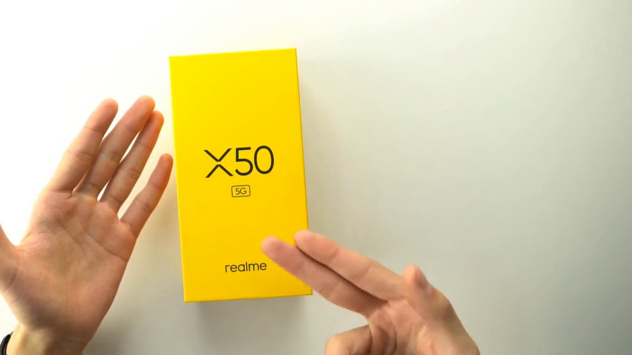 What Are The New Tech Reviews On Realme X50 Unboxing