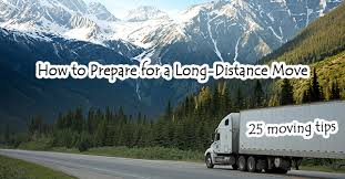 Different Relocation Tips For Long-Distance Moving