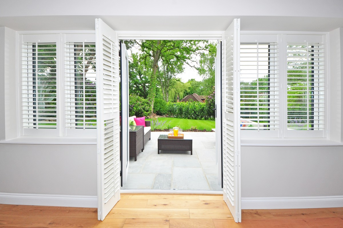 The Arch of the Plantation Shutters can be Designed in Several Ways